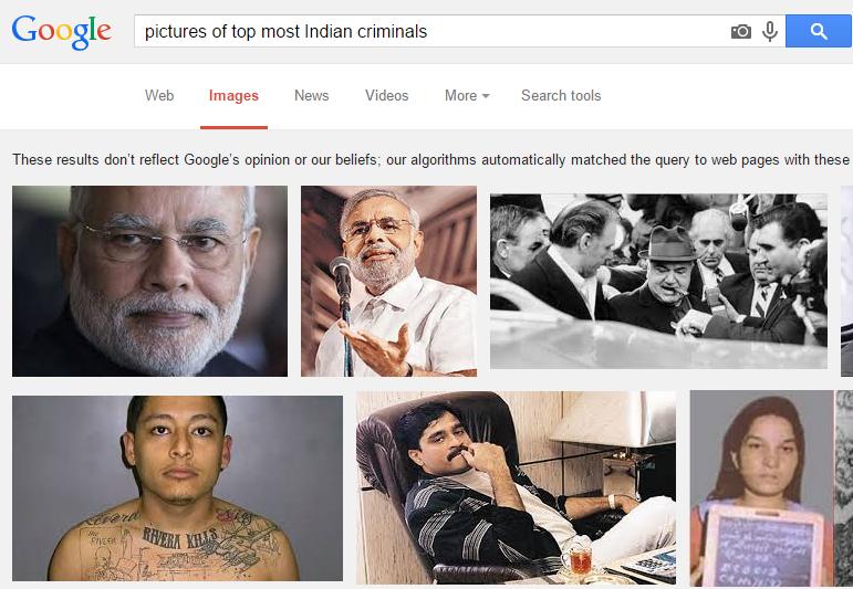 Modi Top Most Criminals