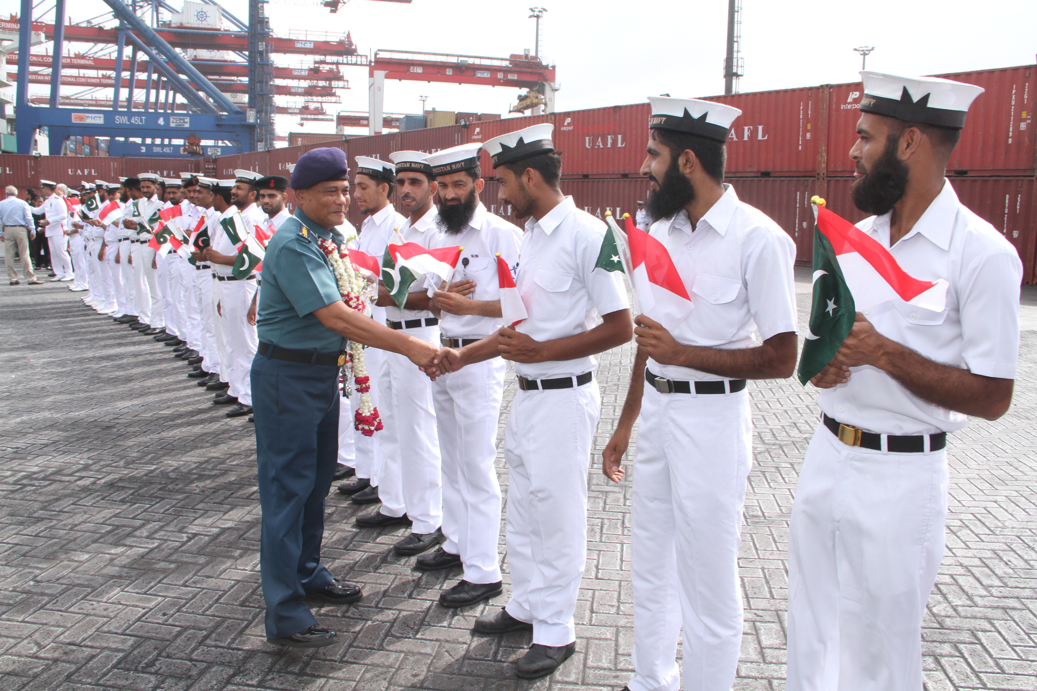 Indonesian Naval ship arrives for training – Weekly