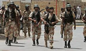 Rangers patrolling