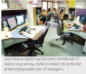 Indian IT firms among world's 10-worst paymasters – Weekly
