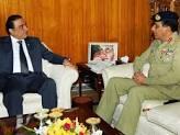 Asif Zardari with Kiyani