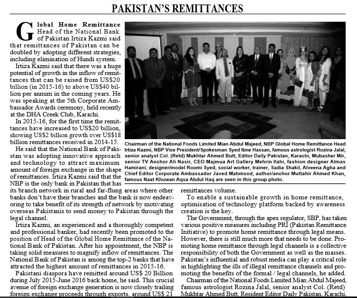 Pak Gulf Economist