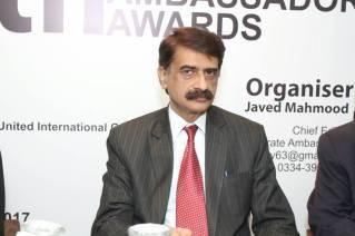 Javed at 9th Awards