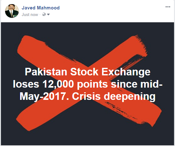 stock exchange loses 12,000 points