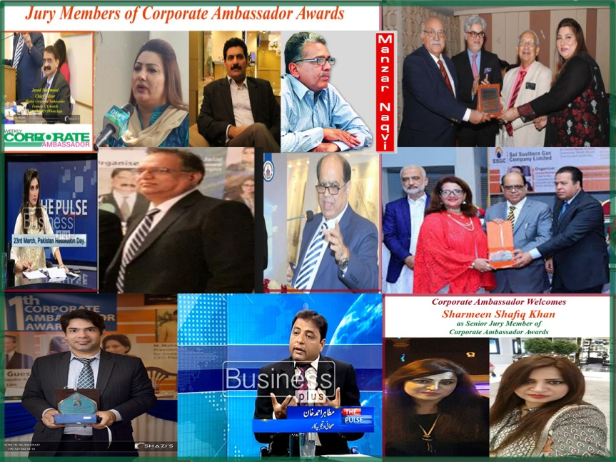 Jury of Corporate Ambassador Awards July8 01