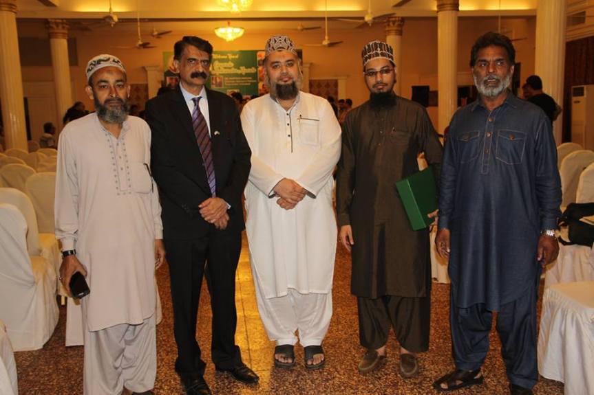 14th awards group photo Siddiqui sab and Qadri sab