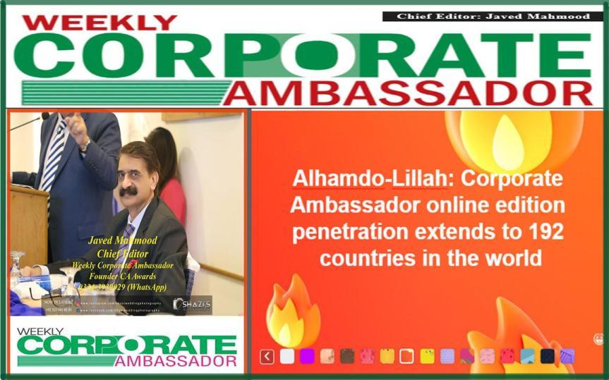192 countries corporate ambassador