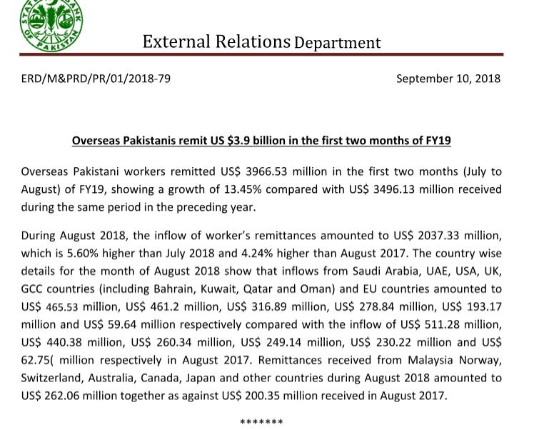 4 billion remittances in 2 months