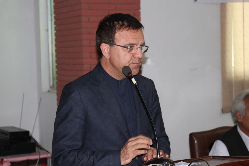 Dr Omer afghan ambassador