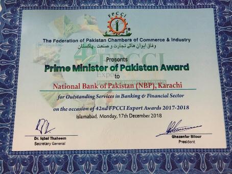 PM Award for NBP3