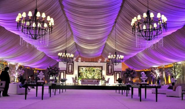 wedding hall on army land