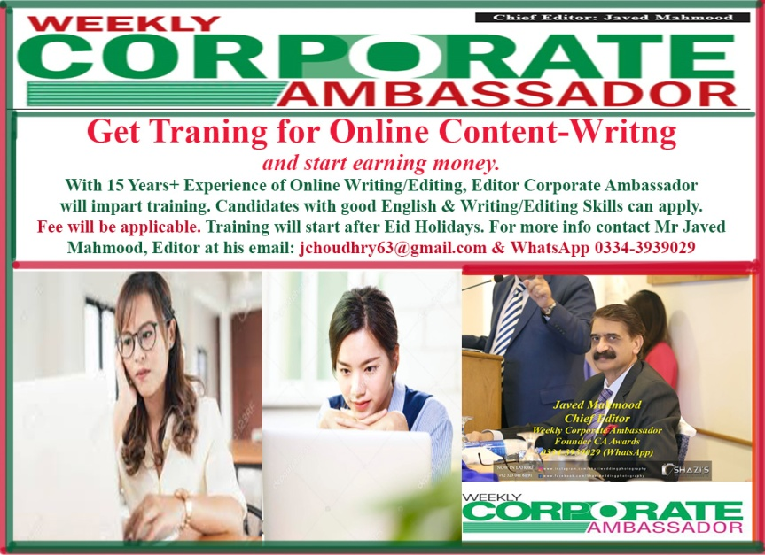 Online Training 4 Content Writing